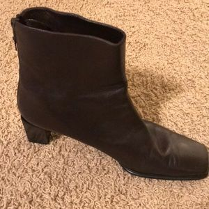 Stuart Weitzman Brown Ankle Boots size 10.5